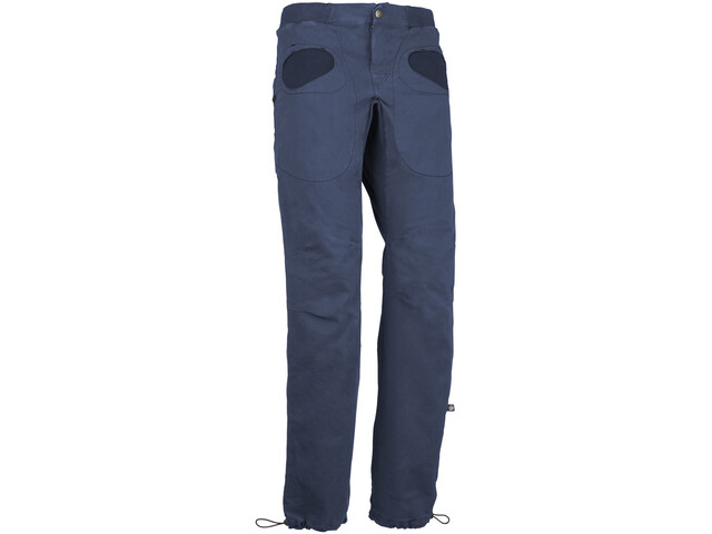 E9 Rondo Slim Pantaloni Uomo, blue navy